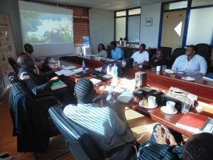 Photograph of affiliated course in Nairobi, Kenya